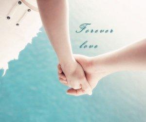情侣知己,完美牵手爱情图片