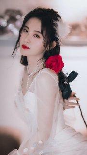 鞠婧祎唯美写真图片
