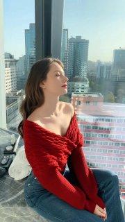 俄罗斯高颜值美女模特Anastasia Cebulska 涨姿势INS美